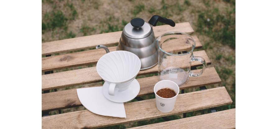 Domácí příprava kávy: Hario V60