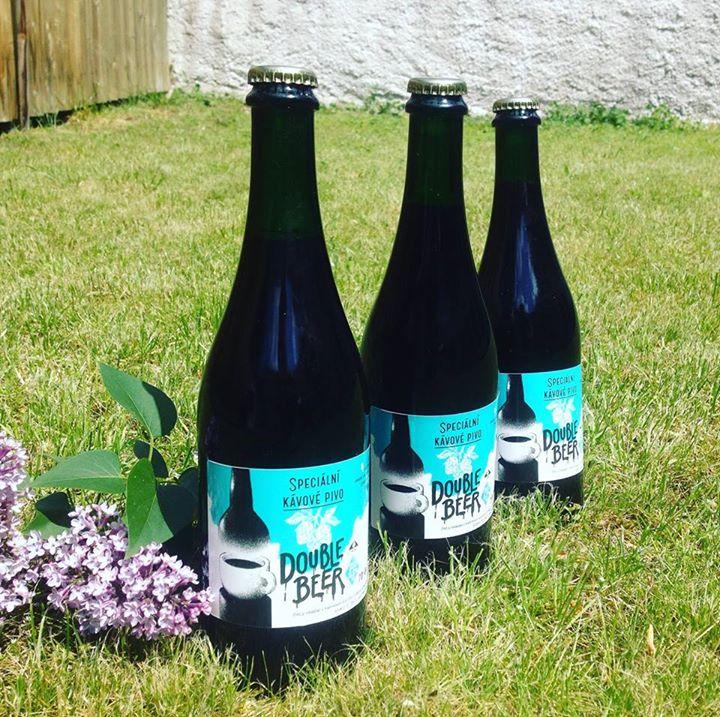 Speciální kávové pivo DOUBLE BEER vzniklo ze spolupráce pražírny Double B