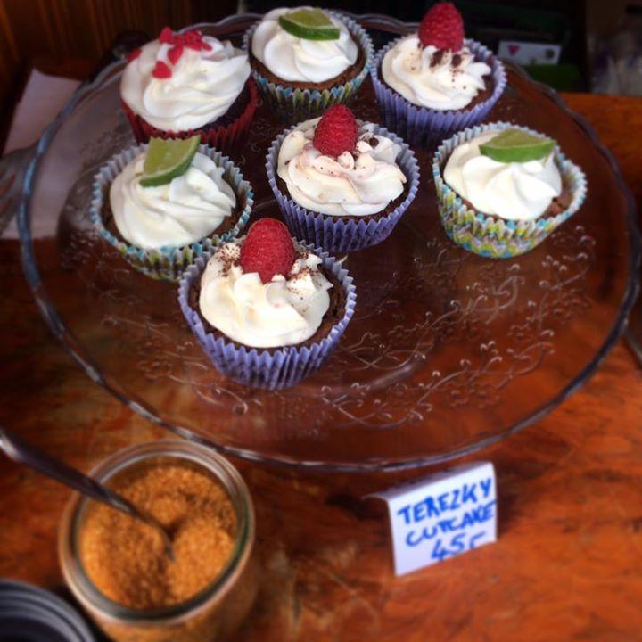 Terezky cupcakes u Kafe Mělník