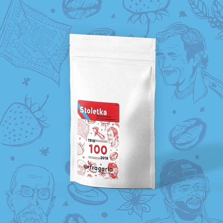 """Máme pro vás pár balíčků """"Stoletky"""" z pražírny FRAGARIA COFFEE k výročí vzniku s…"""