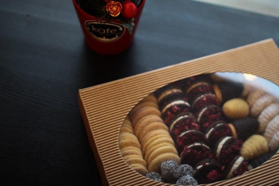Vánoční bezlepkové cukroví   Pár posledních kilo k vyzvednutí v kavárně